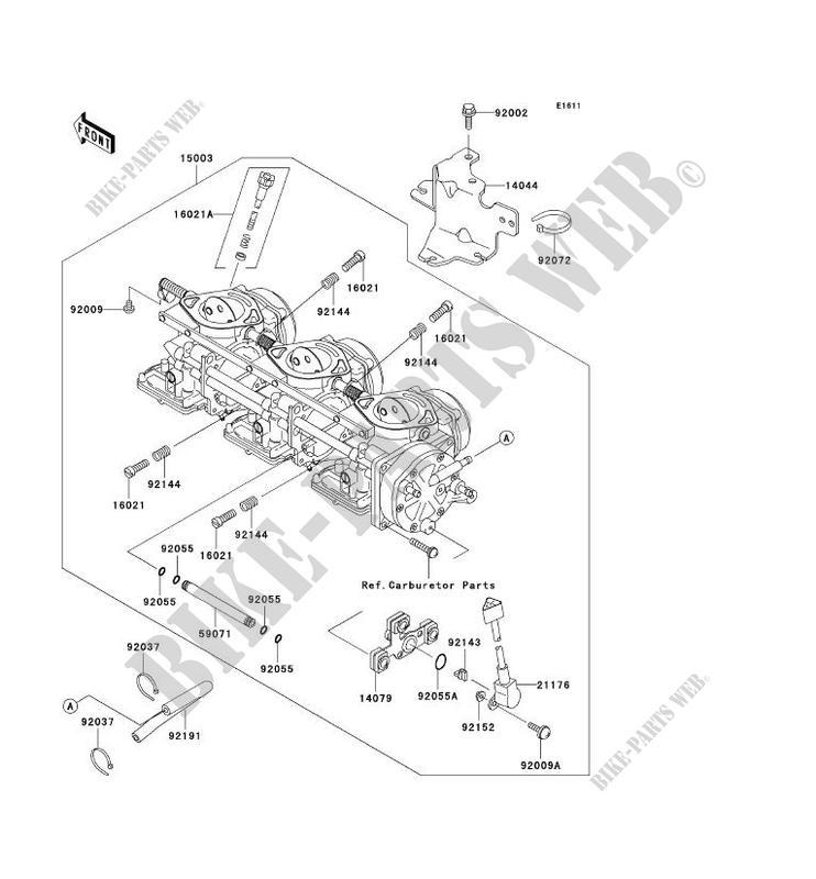 CARBURATEUR pour Kawasaki JET SKI 1200 STX-R 2003