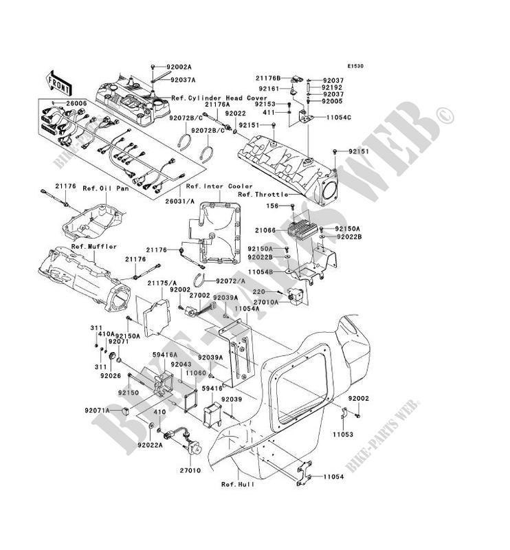 INJECTION CARBURANT pour Kawasaki JET SKI ULTRA 250X 2007