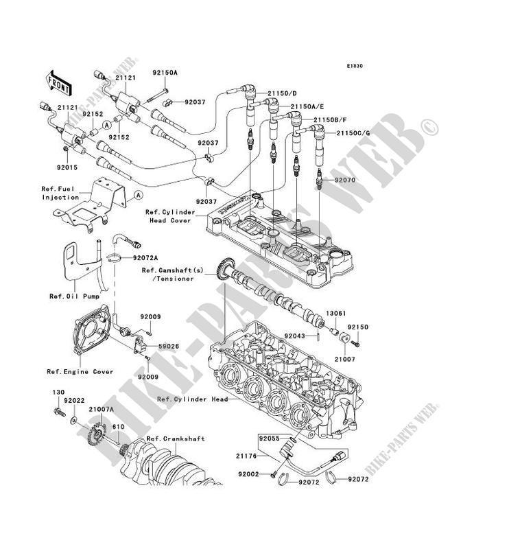 SYSTEME D´ALLUMAGE pour Kawasaki JET SKI ULTRA 250X 2007