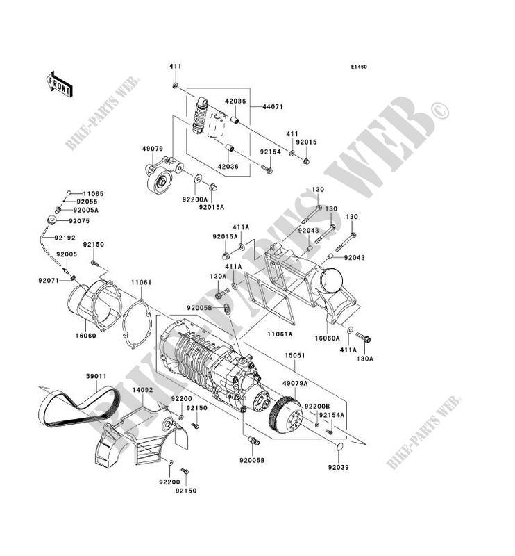 COMPRESSEUR pour Kawasaki JET SKI ULTRA 300X 2011