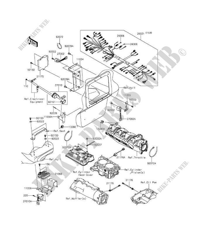 INJECTION CARBURANT pour Kawasaki JET SKI ULTRA 310R 2014