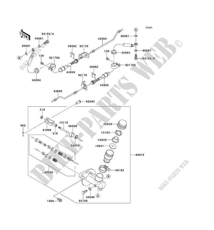 MAiTRE CYLINDRE pour Kawasaki MULE 4010 TRANS 4X4 2012