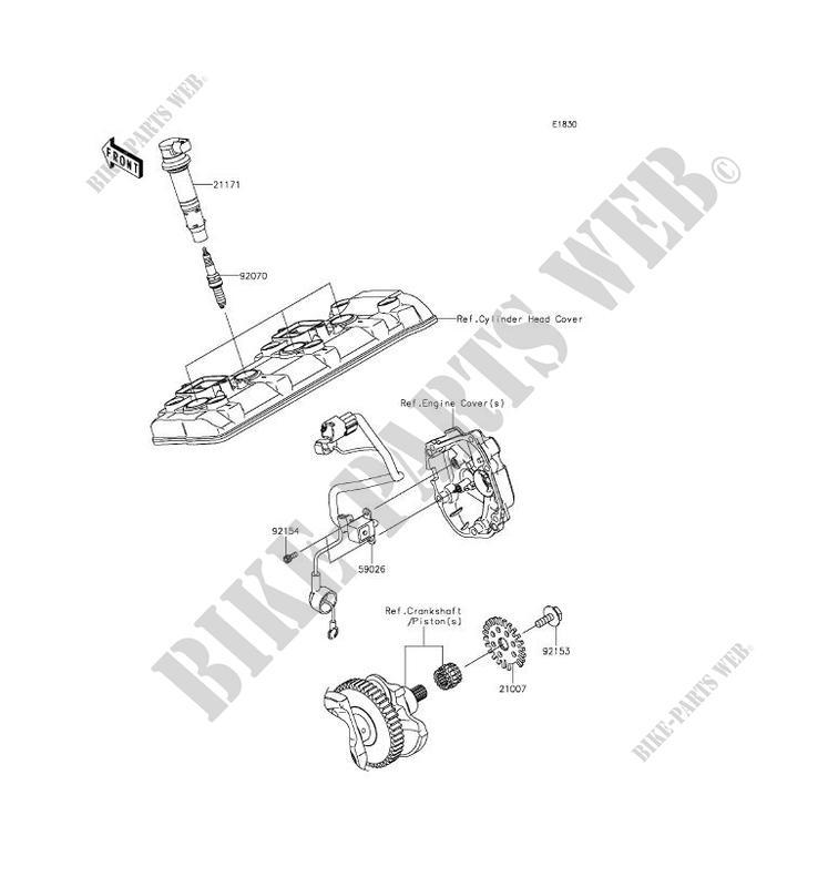 SYSTEME D´ALLUMAGE pour Kawasaki NINJA ZX-10R ABS 2016
