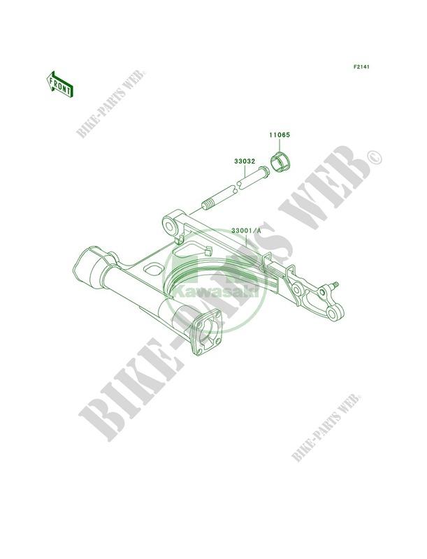 Swingarm pour Kawasaki Vulcan 1500 Classic Fi 2000