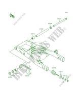 Fuel Evaporative System EN500 C1 Vulcan 500 LTD 1996 500