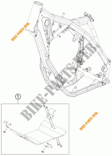 PROTECTION MOTEUR pour KTM 350 SX-F CAIROLI REPLICA de
