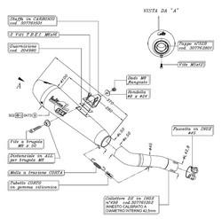 Leovince silencieux GPStyle inox pour Honda 600 Hornet