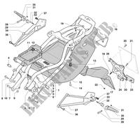 SYSTÈME ELECTRIQUE MOTEUR pour MV Agusta F4 750S 1+1 2000