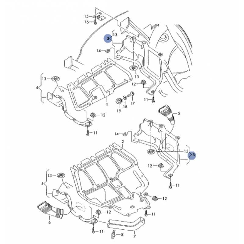 schema moteur skoda octavia