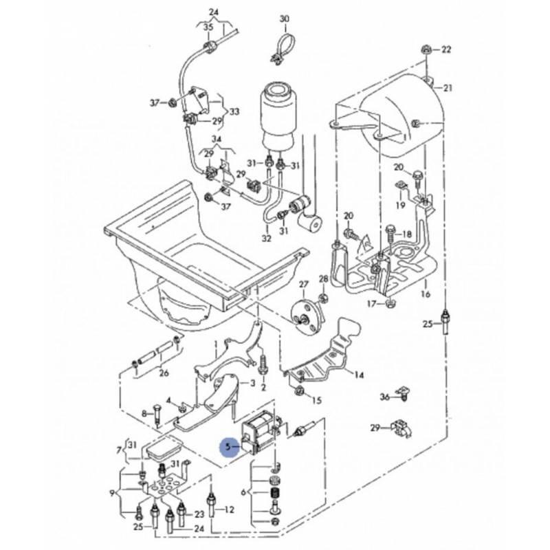 Compresseur d'air pour suspension / Pièce neuve