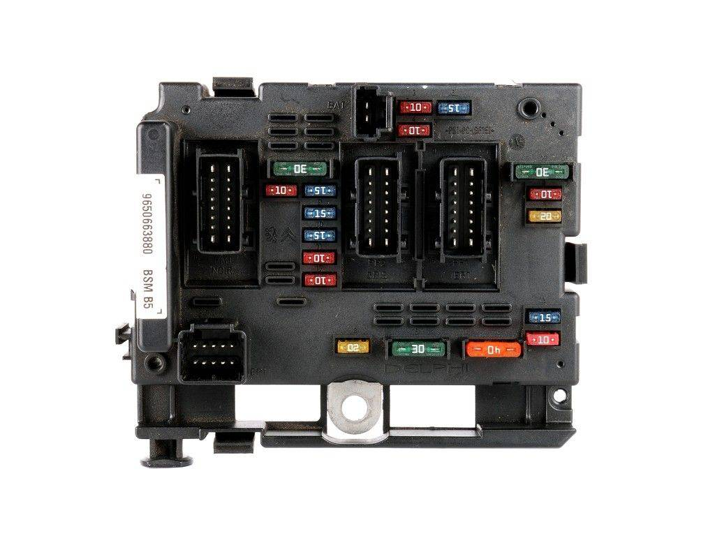 hight resolution of fuse box module bsm citroen c3 c5 c8 xsara picasso sale auto spare part on