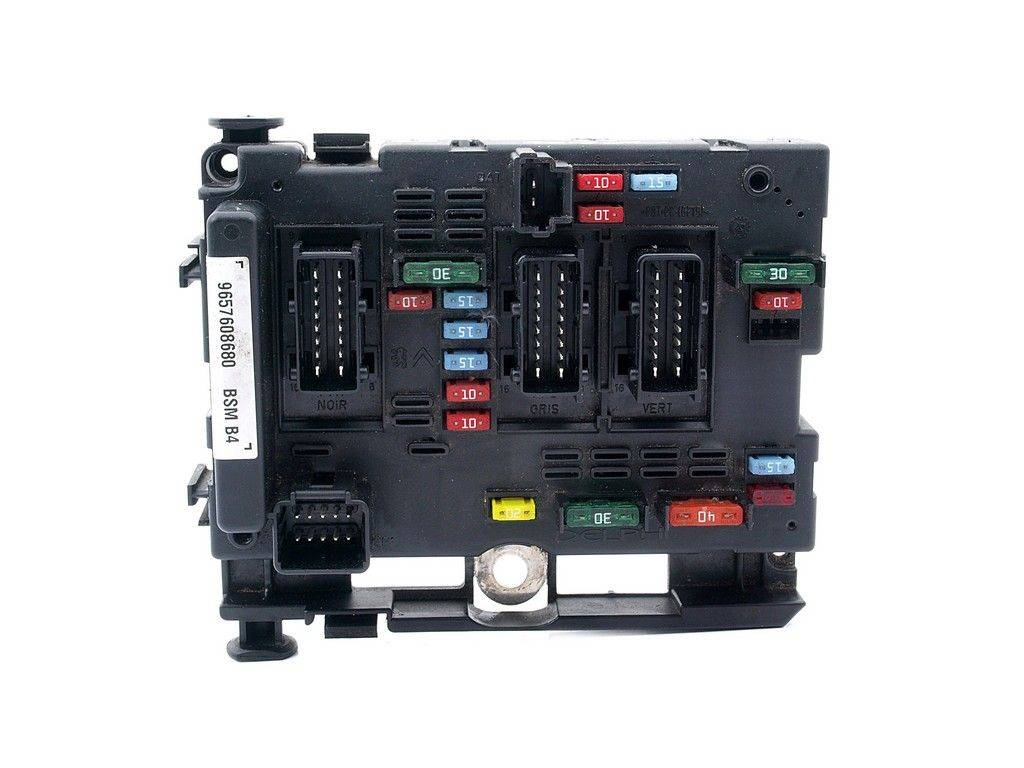 hight resolution of fuse box module bsm peugeot 206 1 4 1 6 2 0 hdi sale auto spare part on pieces okaz com