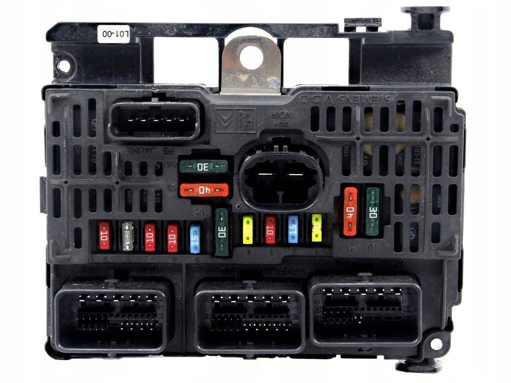 hight resolution of peugeot 407 fuse box