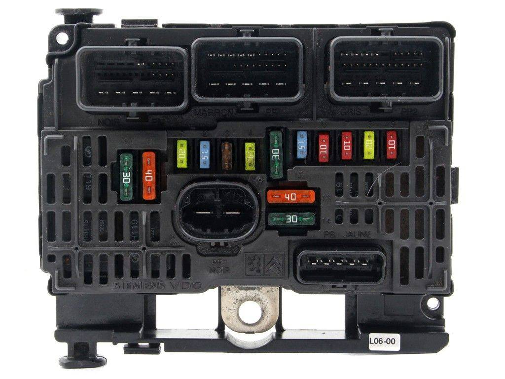 hight resolution of fuse box module bsm citroen c5 1 6 2 0 2 2 hdi sale auto spare part on