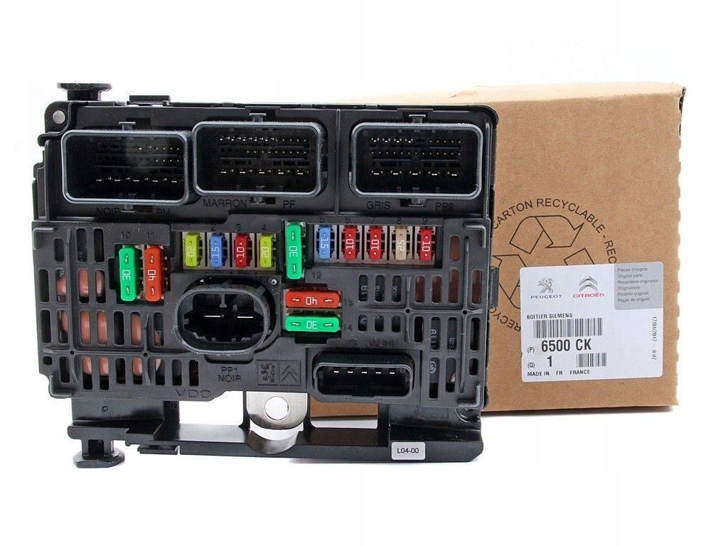 hight resolution of fuse box module bsm peugeot 307 sale auto spare part on pieces okaz com