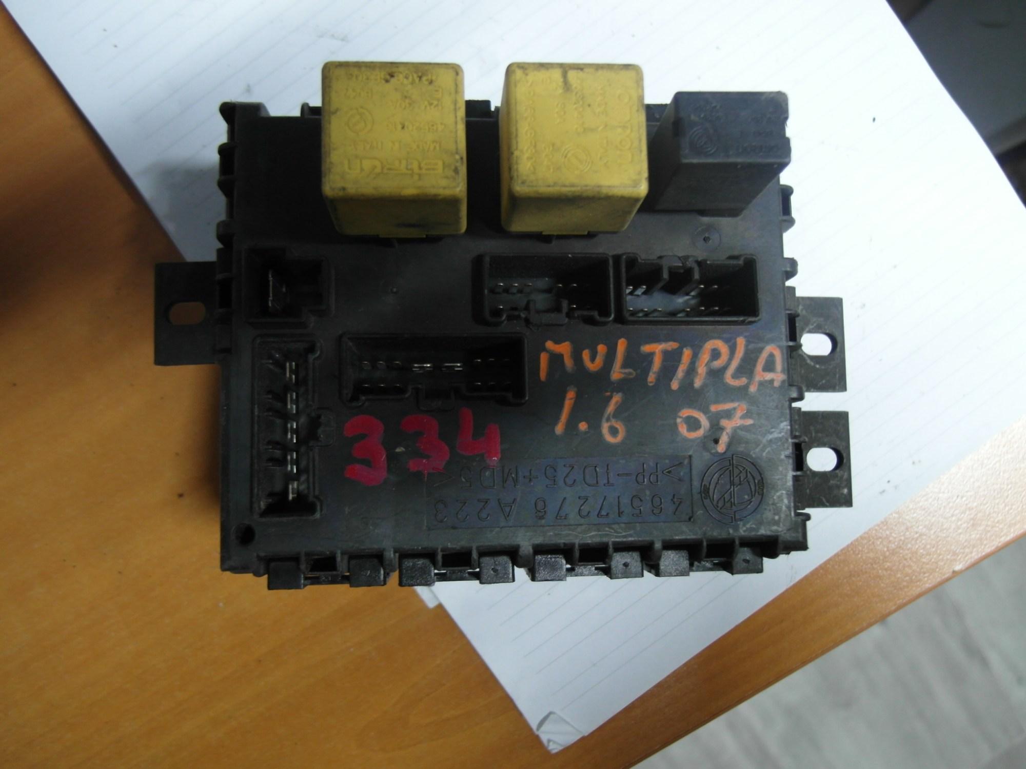 hight resolution of fuse box module bsi fiat multipla 1 6 46517276 a223 sale auto sparefuse box