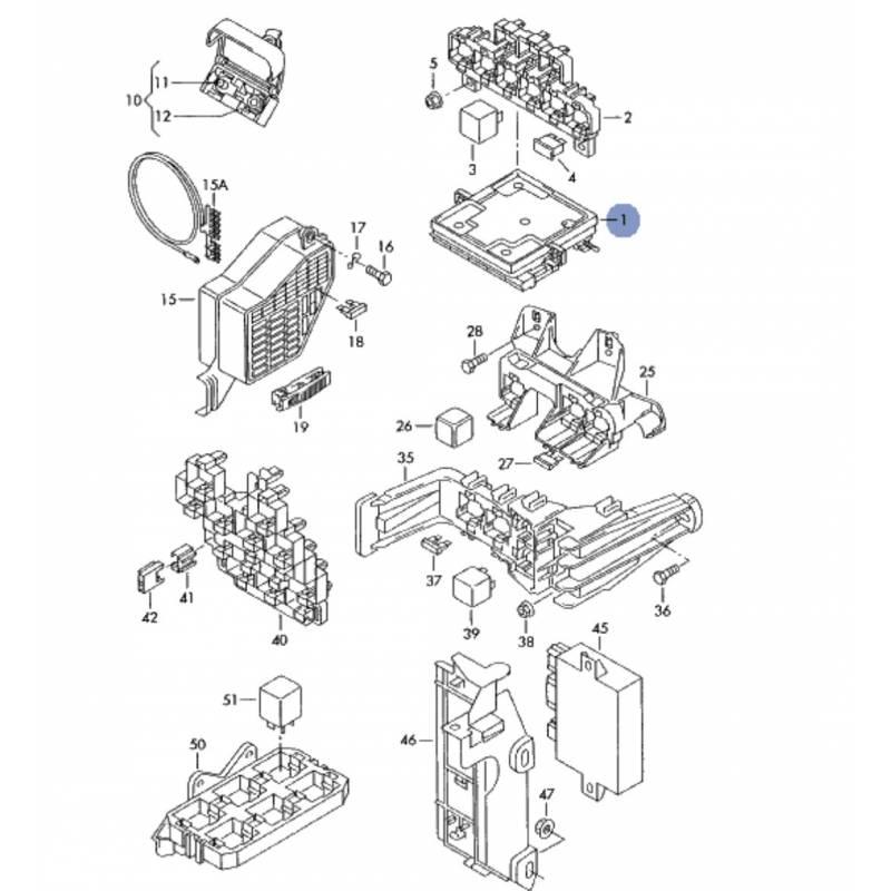 schema motor audi a4