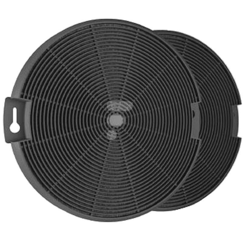 lot de 2 filtres charbon eff75 hotte ikea luftig 90304592