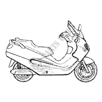 Other year X9 125 PIAGGIO SCOOTER Scooters piaggio