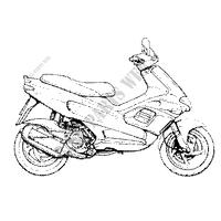 2001 RUNNER 180 GILERA SCOOTER Scooters gilera # Piaggio