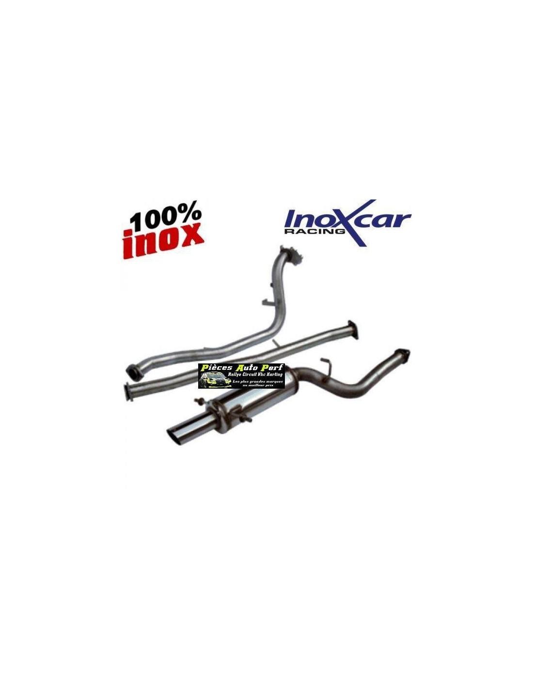 Ligne échappement groupe N Inox pour Subaru Impreza 2.0