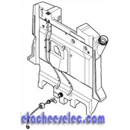 Réservoir fuel et sonde de niveau pour nettoyeur haute