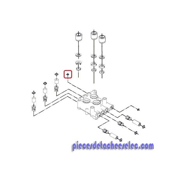 Joint torique 6.1x1.6 pour nettoyeur haute pression alto