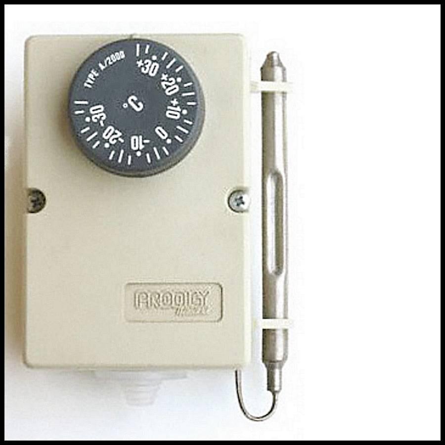 thermostat mecanique prodigy a2000 de 35 a 35 c b font color ff0000