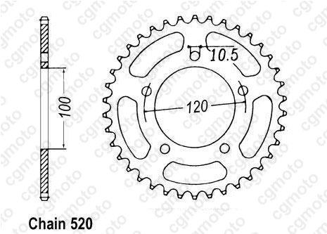 Kit chaine Aprilia 125 Rs Pista Renforcé O-ring Sifam