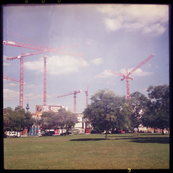 potsdamerplatz, destruction, c-print, berlin - Pieces of Berlin - Collection - Blog