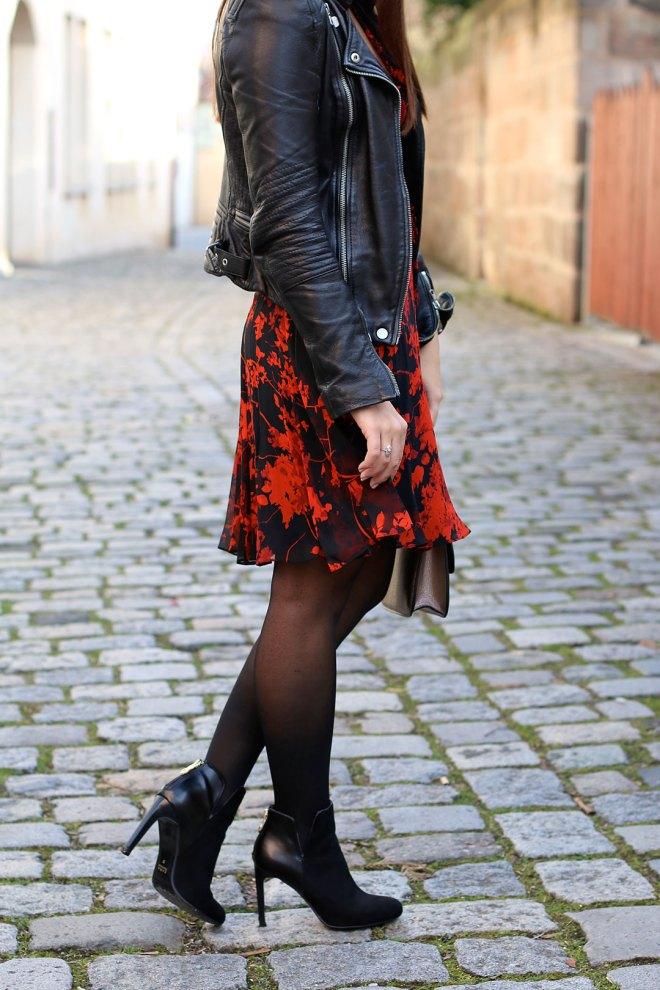 Outfit Valentinstag, Wickelkleid Diane von Fürstenberg