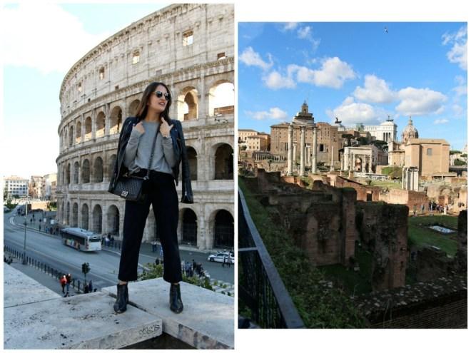 Meine 5 Highlights in Rom - Kolosseum und Forum Romanum
