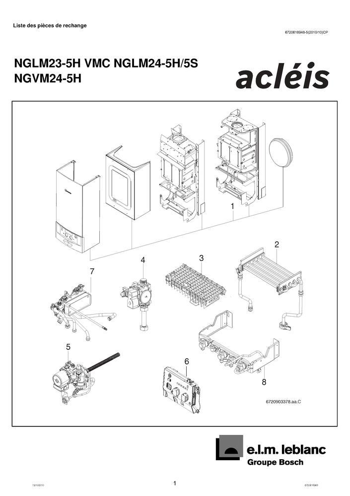 Pieces Detachees Chaudiere Elm Leblanc Acleis Gvm V5 Pieces Express Pieces Detachees De Chauffage Pour Chaudieres Et Chaufferies