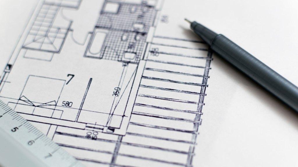 Bauplan Vermessung