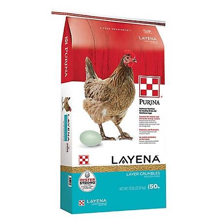 Purina Layena  Crumbles  25  50 Lb