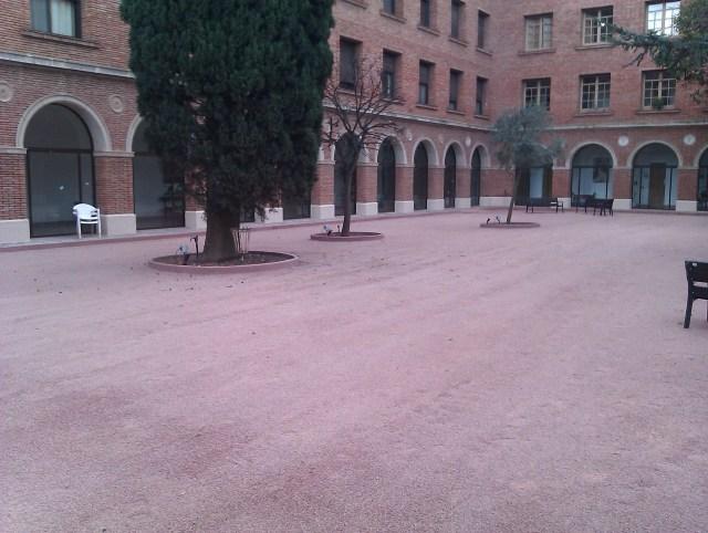 Recinto de un Claustro (Provincia de Barcelona).
