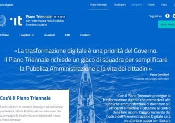 Pubblicato il Piano Triennale per la Trasformazione Digitale della Pubblica Amministrazione