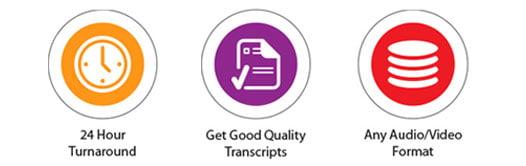transcription outsourcing service benefits