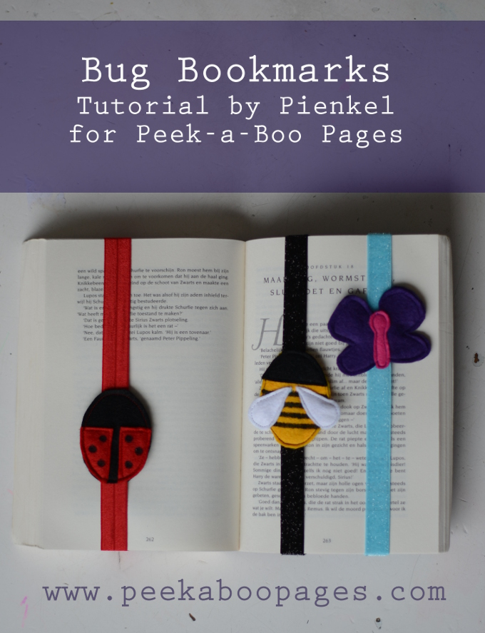 Bug Bookmarks Pienkel