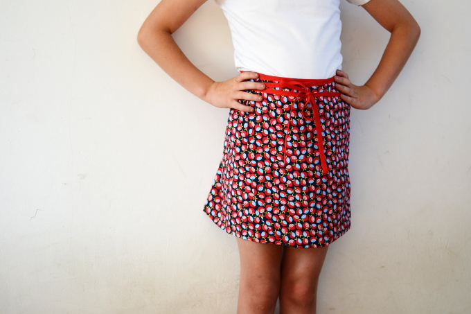 Hiekka wrap skirt pattern by Pienkel