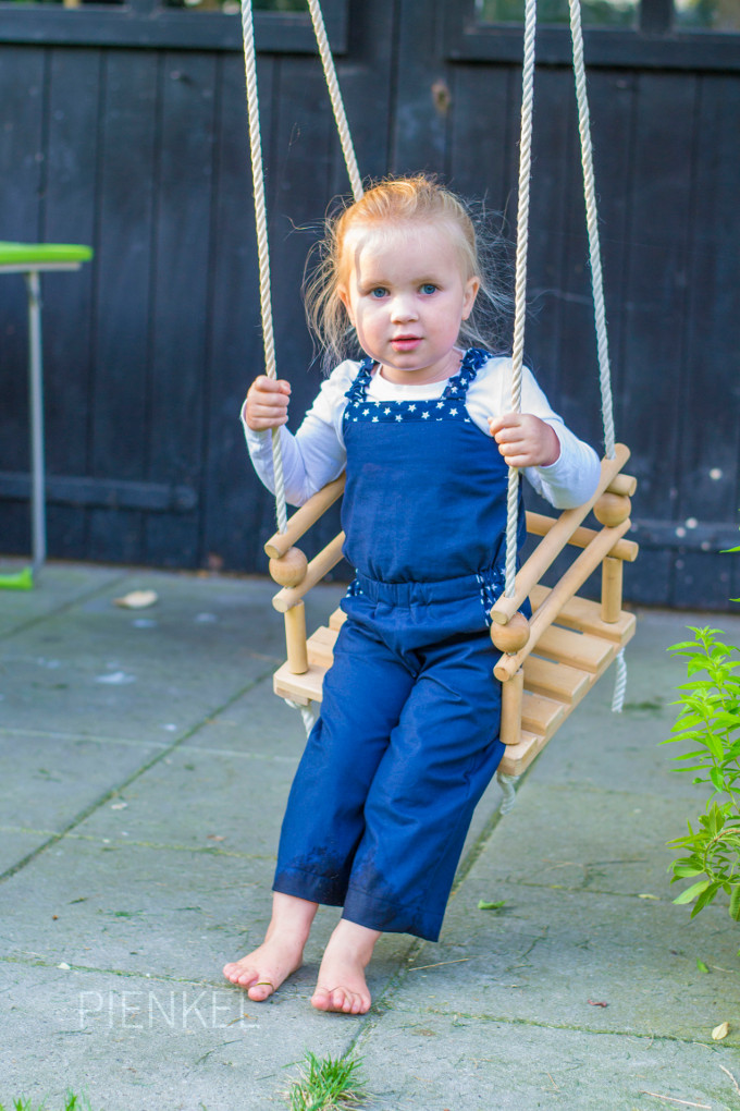 Paneled Sunsuit, pattern by Designs by Call Ajaire, sewn by Pienkel