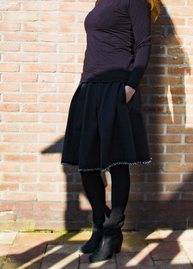 Dyyni Ladies Skirt Pattern - Pattern by Pienkel, available at www.pienkel.com 16
