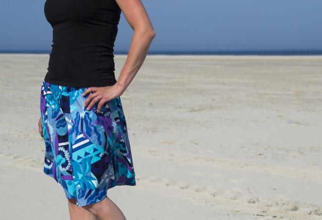 Dyyni Ladies Skirt Pattern - Pattern by Pienkel, available at www.pienkel.com 3