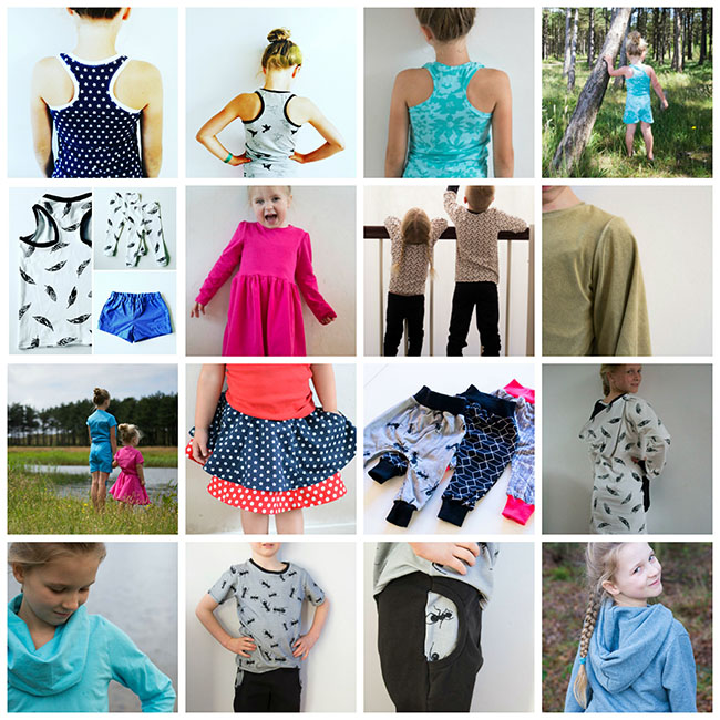 Pienkel 2016 Overview Kids Sewing Projects