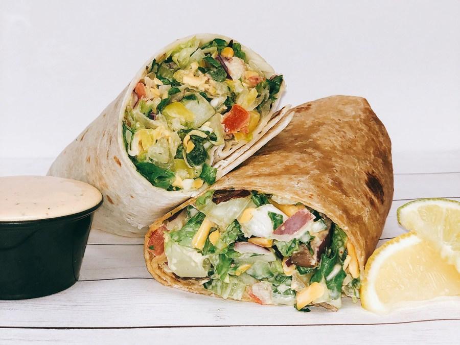wraps, pie-o-mine, pie-o-mine greens, buffalo wraps, salads, pizzas