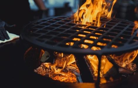 Spazzola per barbecue