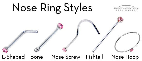 Types of Nose Rings that Will Enhance Your Look ...