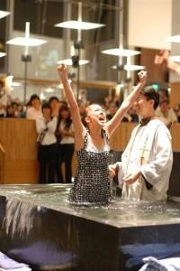 Hallelujah baptism