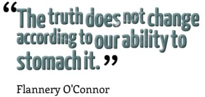truth stomach Flannery O'Connor