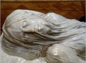 veiled Christ shroud